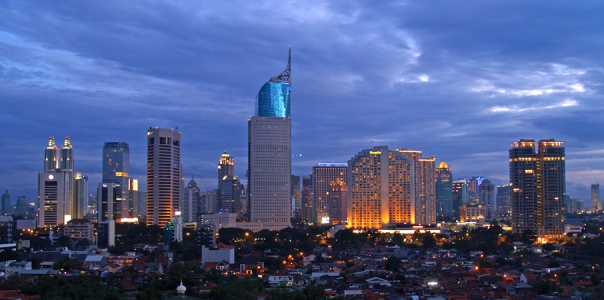 Jakarta Skyline by Yohanes Budiyanto