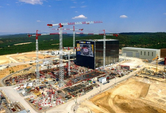 Recent picture of the ITER site