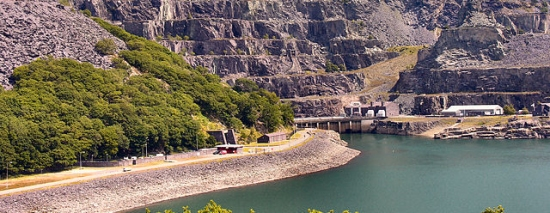 The Dinorwig pumped-storage hydroelectric scheme