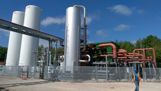 Highview's Liquid air energy storage demonstration plant