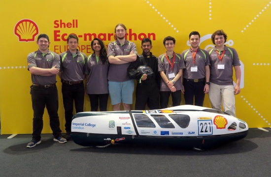 Last year's Shell Eco-marathon team