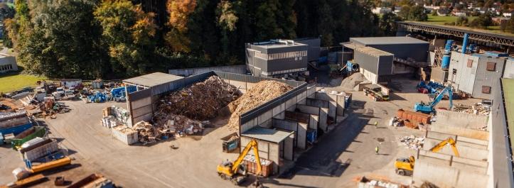A Loacker recycling facility