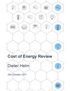 Cost of energy: independent review