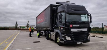 A Heavy Goods Vehicles used to transport products around the United Kingdom.