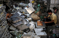 Electronic waste dismantling in the Indian informal sectors
