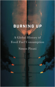 Cover of Burning Up: A Global History of Fossil Fuel Consumption
