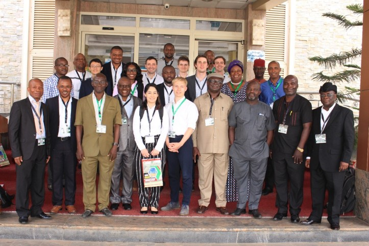 The workshop group in Abuja, Nigeria
